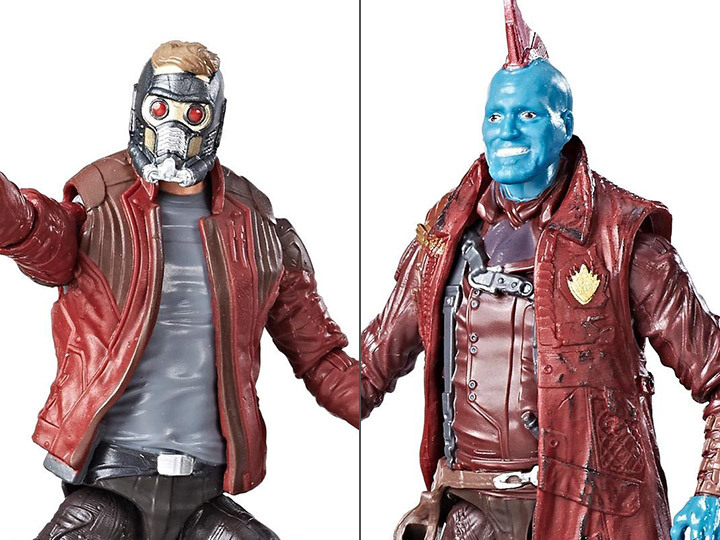 Набор фигурок Звездный Лорд и Йонду Стражи Галактики 2 - Marvel Legends