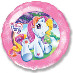 F Круг Моя маленькая лошадка, Розовый, 18''/46 см, 1 шт.