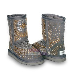 UGG & Jimmy Choo Snow Boots Mandah Grey