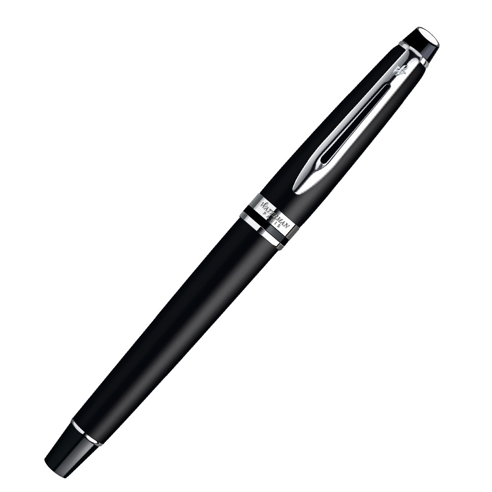 Waterman Expert - Matte Black CT, перьевая ручка, F