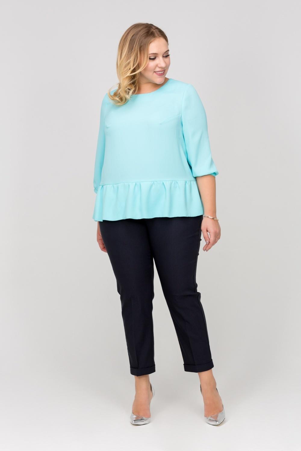 Блузки Блузка Марсала голубая be33074ed74c18ab93c83bd820911b46.jpg