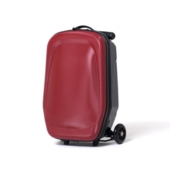 чемодан самокат женский