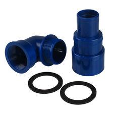 Патрубок заливной горловины бака для топливного шланга д. 38-50-60 мм