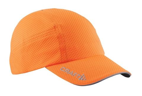 CRAFT RUNNING CAP беговая кепка оранжевая
