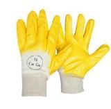 Перчатки с облегченным нитриловым покрытием, манжета, частичный облив (р.10) (1 мешок - 120 пар/упак12 пар)