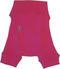 Пеленальные штанишки короткие Babyidea Wool Shorties, Розовый (шерсть мериноса 100%)