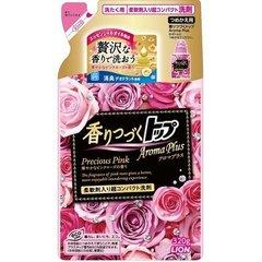 Жидкость для стирки, LION, Top Aroma Plus Precious Pink, букет роз, 320 гр