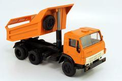 KAMAZ-5511 horizontal body ribs orange Elecon 1:43 used