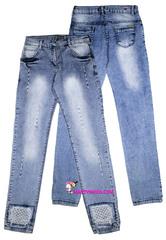 1603 джинсы сеточка