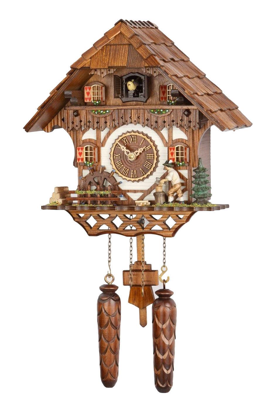 Часы настенные Часы настенные с кукушкой Trenkle 468 QM HZZG chasy-nastennye-s-kukushkoy-trenkle-468-qm-hzzg-germaniya.jpg