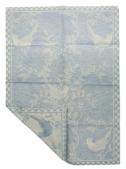 Полотенце 50х70 Leitner голубое