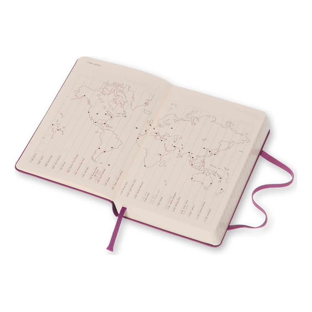 Еженедельник Moleskine Classic Wknt Pocket, цвет фиолетовый