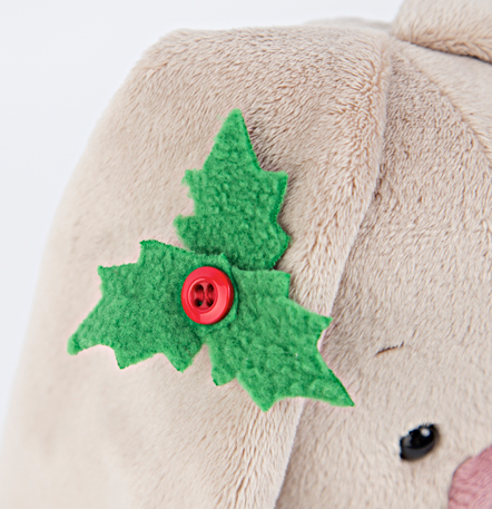 Зайка Ми в рождественском платье