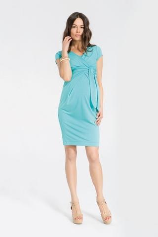 Платье для беременных и кормящих 05383 лагуна