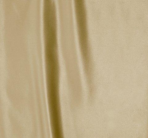 Однотонная портьерная ткань Эвита сатин светло-коричневый
