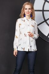 4a390aff96f Купить красивую женскую блузку Г650-352 с юбкой в интернет-магазине ...
