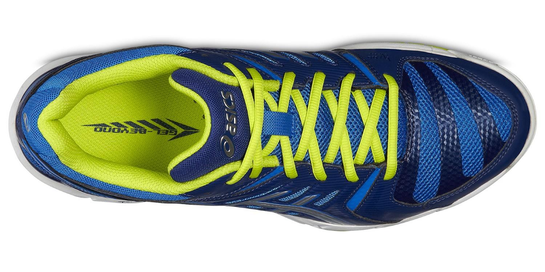 Мужские волейбольные кроссовки Асикс Gel-Beyond 4 (B404N 3993) синие