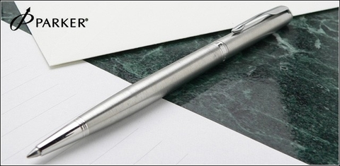 S0809250 Parker Sonnet Stainless Steel CT Slim Шариковая ручка