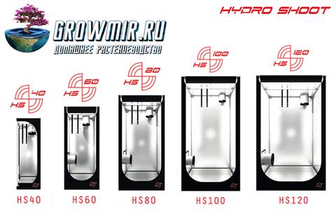 Гроутент Hydro Shoot 80 (80x80x180)