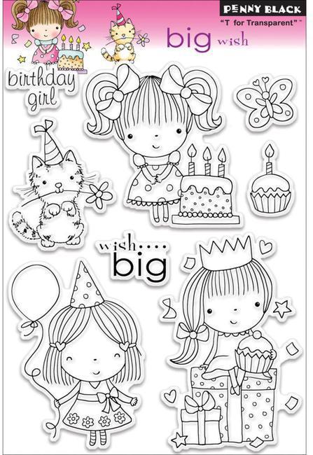 Набор штампов big wish
