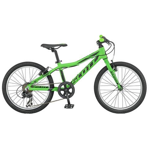 Scott Scale Junior 20 rigid fork (2016)зеленый с черным
