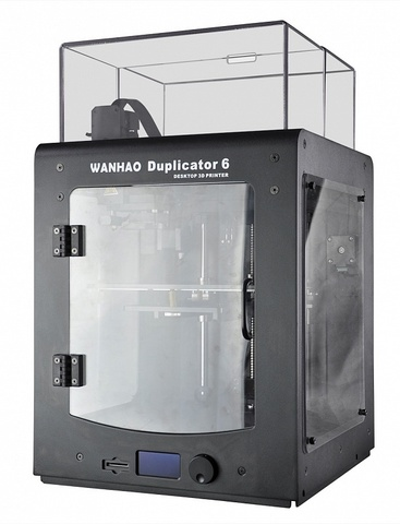 Фотография Wanhao Duplicator 6 plus в пластиковом корпусе — 3D-принтер