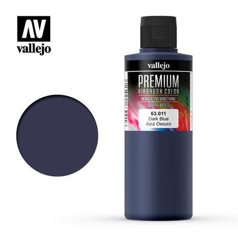 Premium Airbrush Dark Blue 200 ml.
