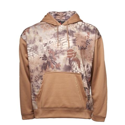 Толстовка с капюшоном KRYPTEK Triad hoodie  Highlander/coyote