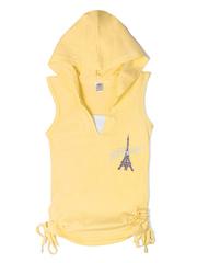 1022 футболка детская, желтая