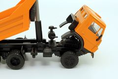 KAMAZ-5511 horizontal body ribs orange Elecon 1:43 used
