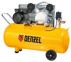 Компрессор пневматический DENZEL 2,2 кВт, 100 л