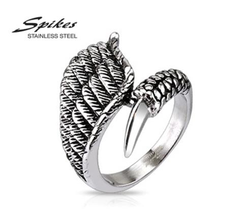 R-H4562 Мужское кольцо &#34Spikes&#34 из ювелирной стали