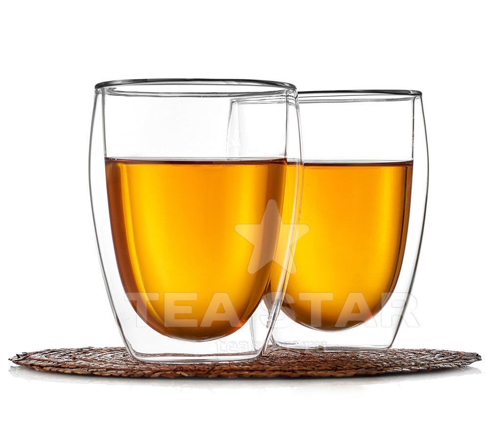 Наборы-Акции Два стакана с двойными стенками 350 мл, из прозрачного стекла Chashka_dvoynie_Stenki_Landish_350ml_2.jpg