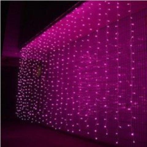 LED Светодиодная гирлянда штора 640 LED лед