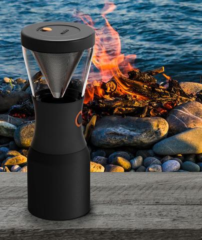 Кофеварка портативная Asobu Cold Brew (1 литр), черная