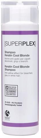 Шампунь для придания холодного оттенка Keratin Cool Blonde,Barex SuperPlex ,250 мл