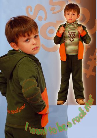 Выкройка костюма из футера для мальчика