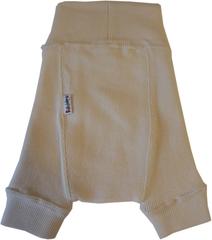 Пеленальные штанишки короткие Babyidea Wool Shorties, Натуральный (шерсть мериноса 100%)