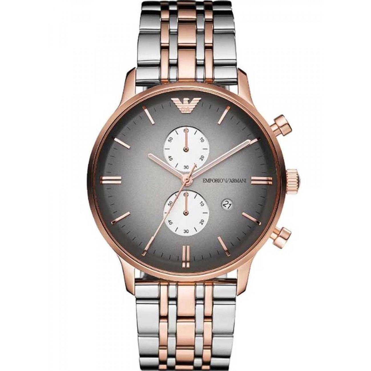 Часы emporio armani solid stainless steel 50 meters официальный сайт
