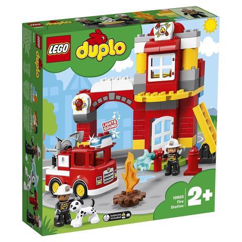 LEGO Duplo: Пожарное депо 10903 — Fire Station — Лего Дупло