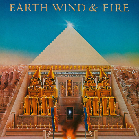 Earth, Wind & Fire ‎/ All 'N All (LP)