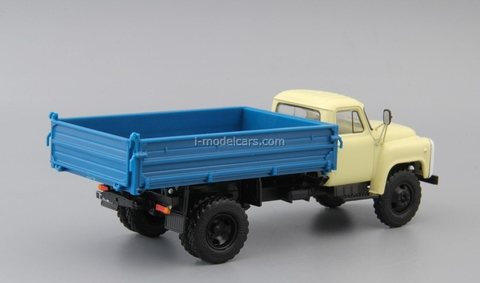 GAZ-SAZ-53B dump truck beige-blue 1:43 DeAgostini Auto Legends USSR Trucks #44