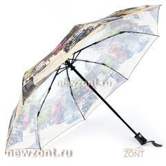 Зонт женский складной автомат Magic Rain старый Лондон