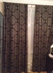 Пример пошива штор из ткани ЭТОГО артикула.