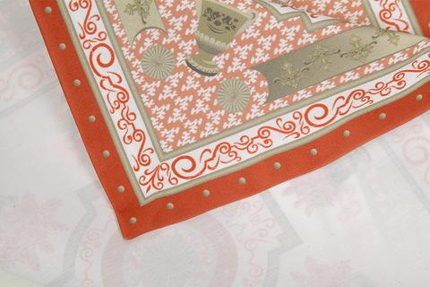 Салфетки 4 шт 40x40 Blonder Home Rosetta розовые