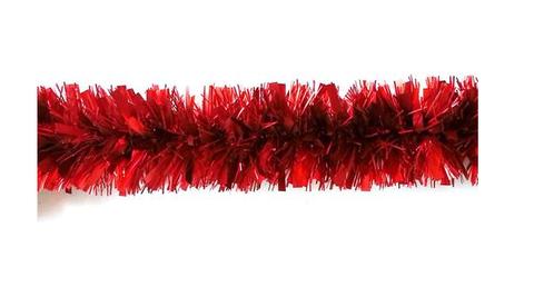 Мишура  Шар 8х200см красный