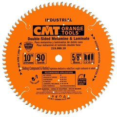 Диск пильный 254x30x3,0/2,5 Z=80 ATB+TCG a=-5° древесина, ламинат CMT 219.080.10M