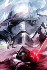 Постер Арт Звёздные войны Пробуждение Силы Кайло Рен