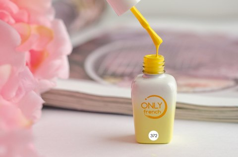 Гель-лак Only French, Yellow Touch №372, 7ml