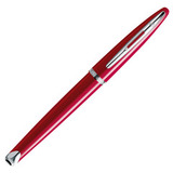 Waterman Carene Glossy Red Lacquer ST перо золото 18Ct M (S0839590)